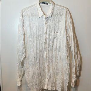 Issey Miyake Twisted Long Sleeve Shirt Japan